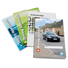 English Driving Licence books